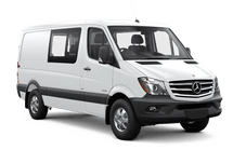 New Mercedes-Benz Sprinter Crew Van at Long Island City