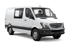 New Mercedes-Benz Sprinter Crew Van at Seattle