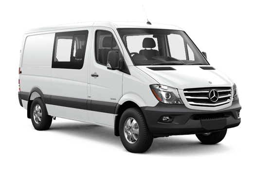 New Mercedes-Benz Sprinter Crew Van near Chicago