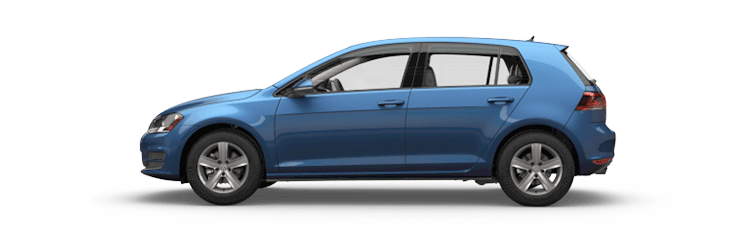 New Volkswagen Golf near Bakersfield