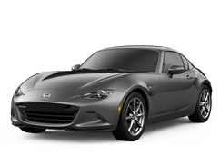 New Mazda MX-5 Miata RF at Newport