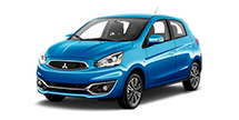 New Mitsubishi Mirage at Brooklyn