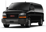 New GMC Savana Cargo Van at San Diego