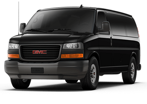 New GMC Savana Cargo Van in