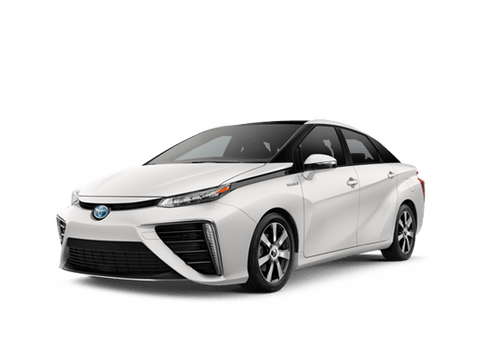 New Toyota Mirai at Oroville