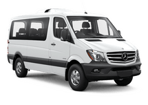 New Mercedes-Benz Sprinter Passenger Van at Salisbury