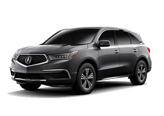 New Acura MDX at Augusta