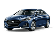 New Hyundai Sonata Hybrid at High Point