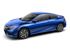 New Honda Civic Coupe at Timmins