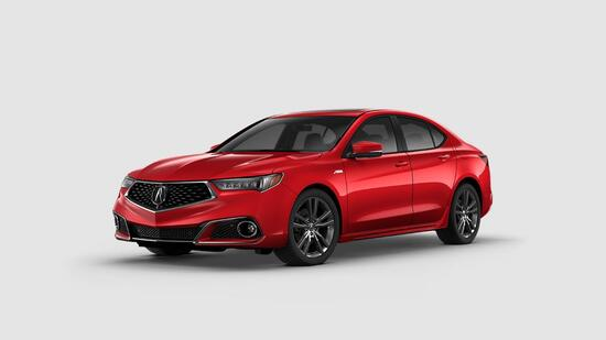 TLX V6 A-Spec FWD Red