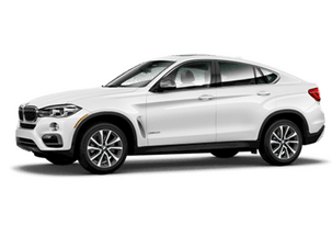 New BMW X6 at Pompano Beach