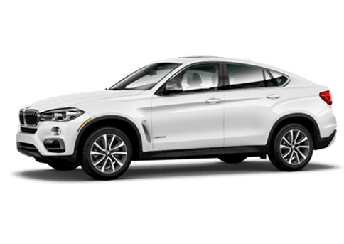 New BMW X6 in