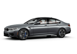 New BMW M5 at Pompano Beach