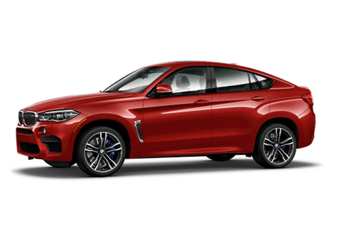 New BMW X6 M in