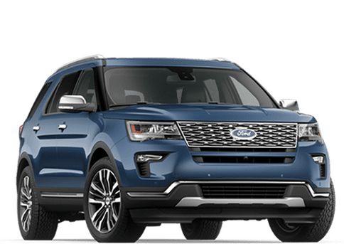 New Ford Explorer in