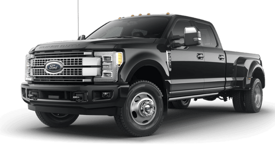 Super Duty F-350 DRW Platinum 4x2 Crew Cab w/ 8' Box
