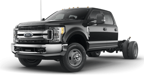 Super Duty F-350 DRW Chassis XLT 4x2 Crew Cab
