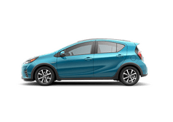 New Toyota Prius c at Birmingham