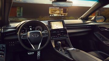 9-in. Multimedia touch-screen display and 7-in. Multi-Information Display