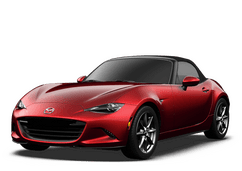 New Mazda Miata at Loma Linda