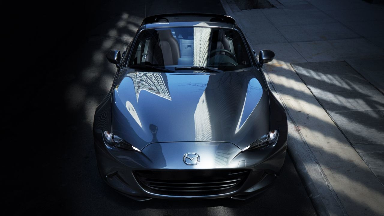 Mazda's Signature Machine Gray Metallic