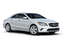 New Mercedes-Benz CLA at Wilmington