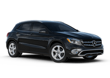 New Mercedes-Benz GLA at El Paso