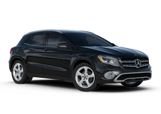 New Mercedes-Benz GLA at Houston