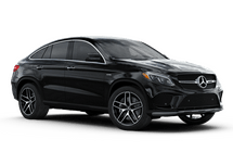 New Mercedes-Benz GLE at Wilmington