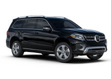 New Mercedes-Benz GLS at Houston