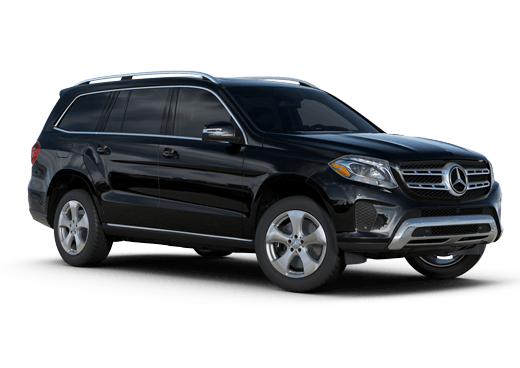 New Mercedes-Benz GLS near Greenland