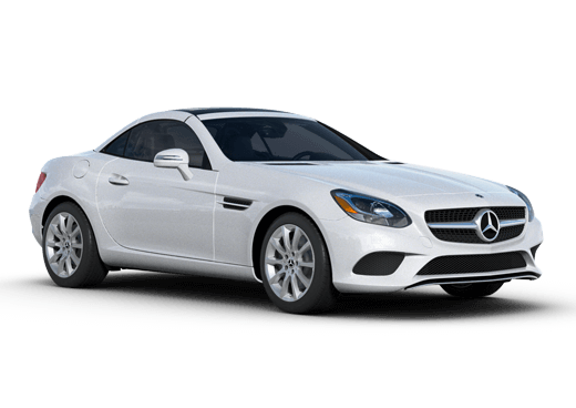 New Mercedes-Benz SLC near Greenland