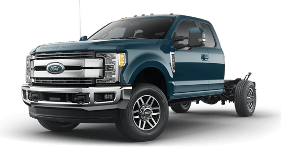 Super Duty F-350 SRW Chassis Lariat 4x4 SuperCab