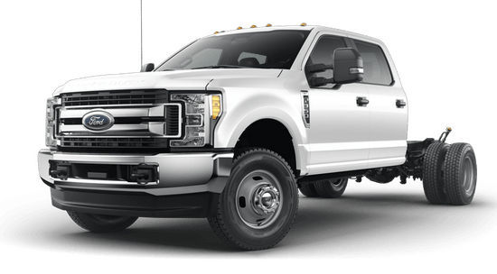 Super Duty F-350 DRW Chassis Cab XLT 4x4 Crew Cab