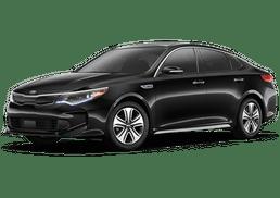 New Kia Optima Hybrid at Akron