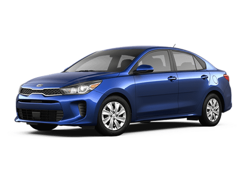 New Kia Rio in Sacramento