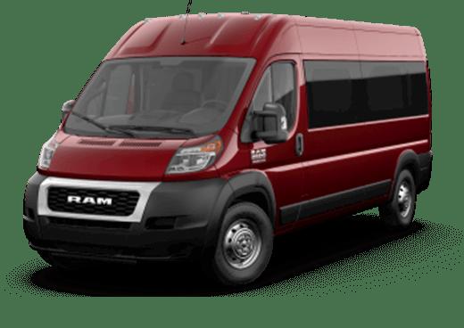 ProMaster Cargo Van 2500 Window Van High Roof 159WB