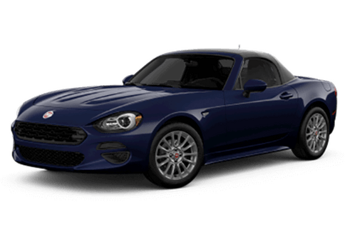 New Fiat 124 Spider in