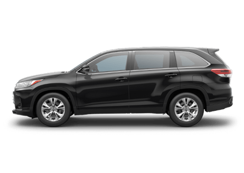 New Toyota Highlander in
