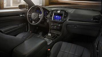A Luxurious and High-Tech Interior