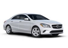 New Mercedes-Benz CLA-Class at Houston