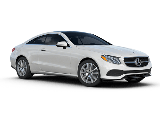 New Mercedes-Benz E-Class near Greenland