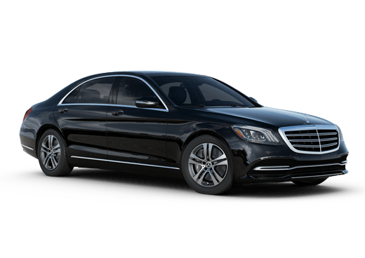 New Mercedes-Benz S-Class near Greenland
