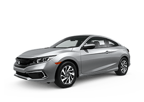 New Honda Civic Coupe at Chattanooga