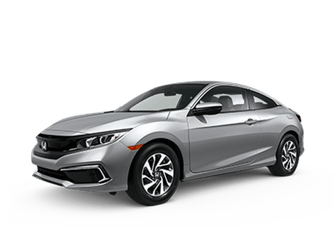 New Honda Civic Coupe in