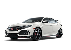 New Honda Civic Type R at Tuscaloosa