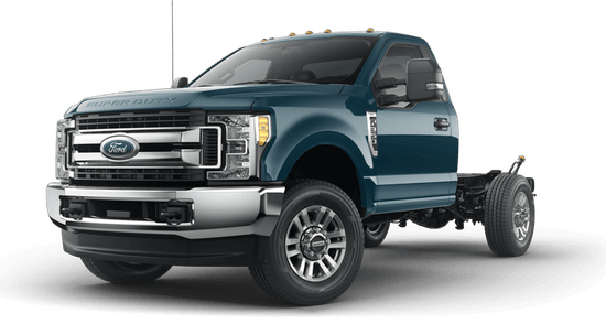 F-350 Super Duty SRW Chassis XLT 4x4 Regular Cab