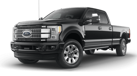 F-350 Super Duty SRW Platinum 4x4 Crew Cab w/ 8' Box