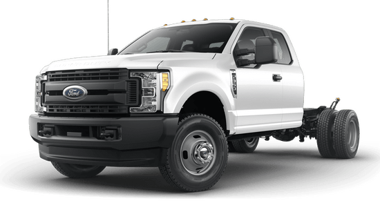 F-350 Super Duty DRW Chassis XL 4x4 SuperCab
