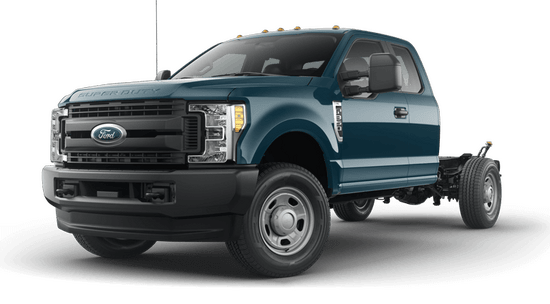 F-350 Super Duty SRW Chassis XL 4x4 SuperCab